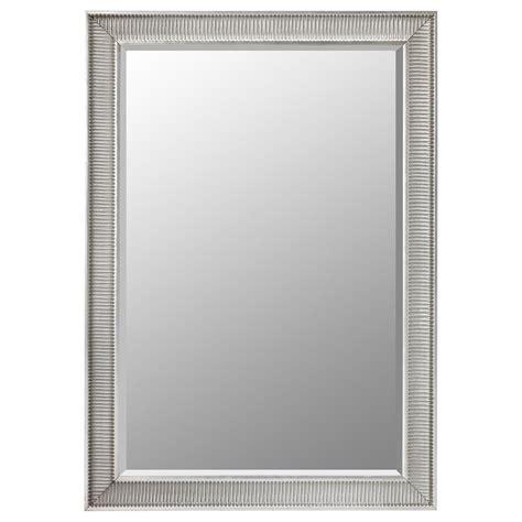 mirror s songe mirror silver colour 91x130 cm ikea
