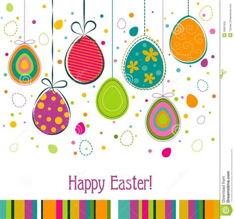 easter greeting card template template easter greeting card vector stock vector image