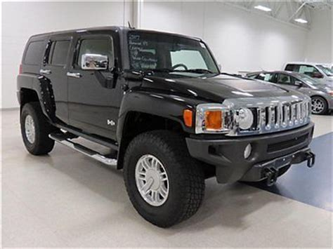 find used 07 hummer h3 4x4 leather sunroof heated seats