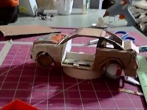 How To Make A Model Car Out Of Paper - building a model car out step 5 the finders