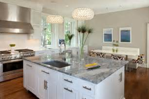 superior Dark Cabinets With Light Granite Countertops #1: white-kitchen-cabinets-quartz-countertops-pendant-lighting-over-kitchen-bar-island-with-bar-stools-modern-kitchens-with-quartz-countertops-best-quartz-countertops-for-white-cabinets-grey-mosaic-floor-.jpg