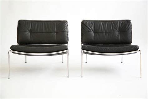 low to the ground chairs pair of piero lissoni frog lounge chairs at 1stdibs