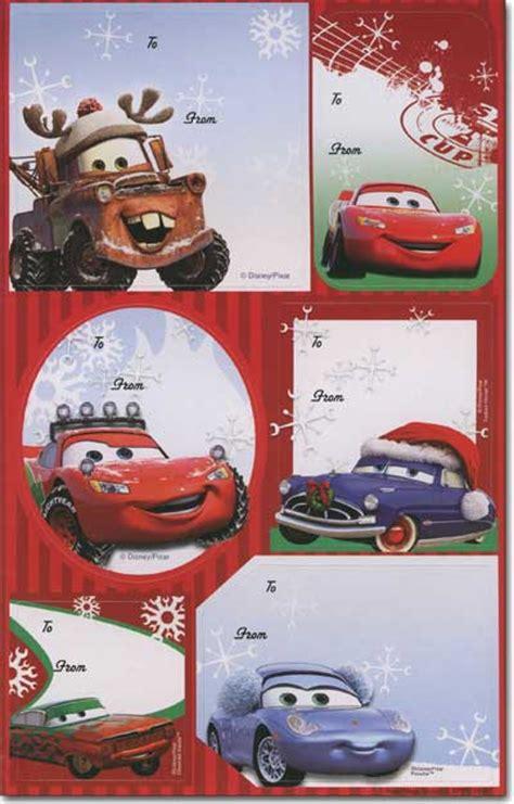 disney pixar peel  stick  stick christmas gift tags  paper magic