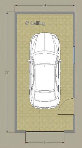 floor plan car single car garage option a innova eco system