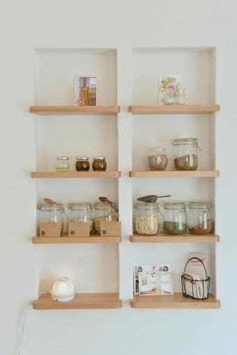 between stud storage cabinets 17 best ideas about recessed shelves on pinterest wall