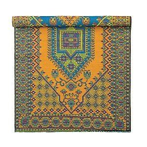 Gaiam Outdoor Rug Gaiam Recycled Plastic Reversible All Weather Indoor Outdoor Rug 9 L X 6 W Aqua Orange