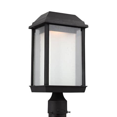 Led Outdoor Post Lights Feiss Ol12807txb Led Mchenry 1 Light Led Outdoor Post Lantern Atg Stores