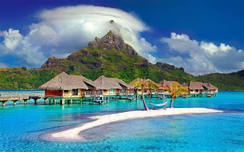 bora bora island beautiful places french polynesia south