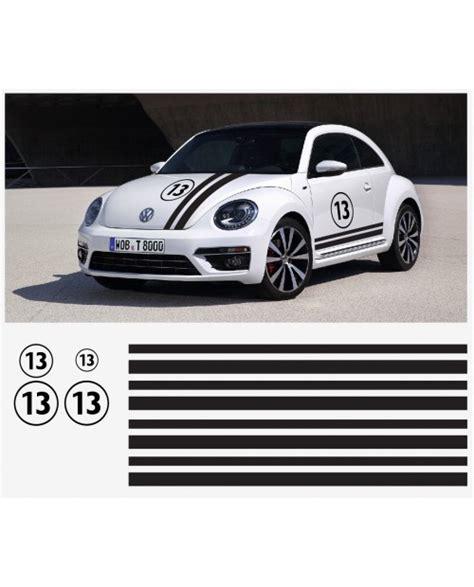 Vw Beetle Herbie Aufkleber by Vw