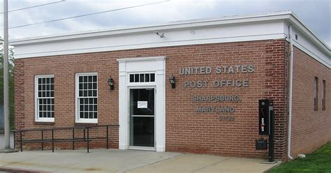 Maryland Post Office by Sharpsburg Maryland Post Office Photo