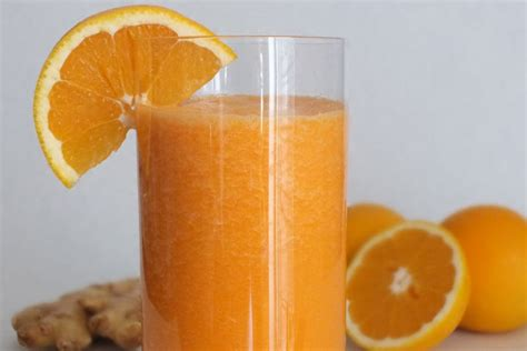 Orange Detox Drink by Orange Detox Smoothie Corner