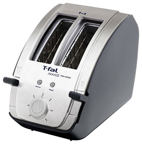 T Fal Avante Toaster T Fal Avante Deluxe Stainless Steel And Black 2 Slice