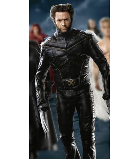 Jaket The Last x last stand wolverine special costume jacket