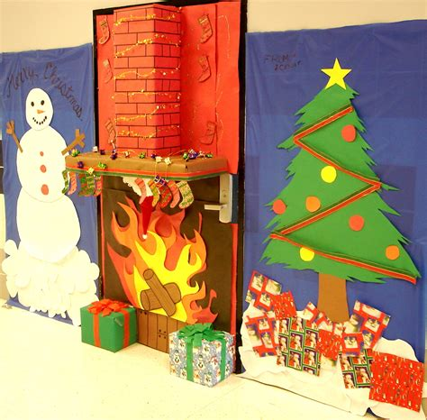 Tin Door Decorations by Door Decorations Contest The Attractive