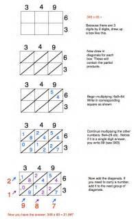 blank lattice math worksheets lattice multiplication