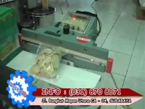 Alat Pres Plastik Snack peluang usaha aneka makanan mesin kemasan aluminium foil