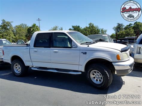 used parts 2002 ford f150 xlt 4 6l 4x4 subway truck