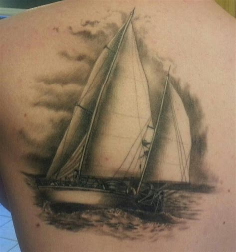 sail boat tattoo pin sailboat flickr photo on