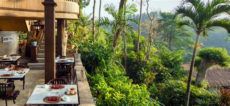 terrace restaurant ubud pita maha resort spa official site