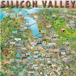 silicon valley california map sorry dod silicon valley s just not that into you fcw
