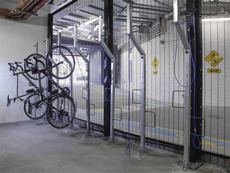 Hanging Bicycle Racks by Hanging Bike Rack Vertical