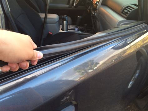 rubber sts nc window weatherstripping replacement toyota 4runner forum