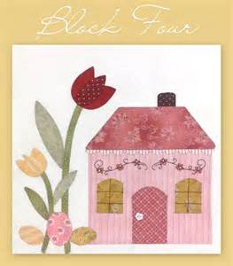 the shabby a quilting blog by shabby fabrics country cottages block four