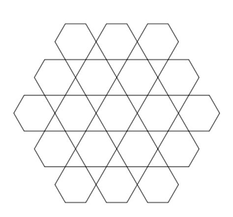 draw pattern using geometric shapes how to draw grids of geometric shapes with tikz tex