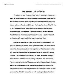 Secret Of Bees Essay by The Secret Of Bees Gcse Media Studies Marked By