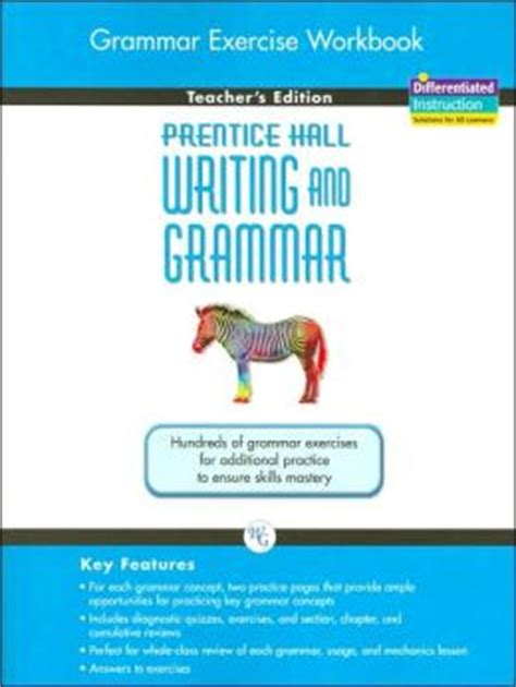 Grammar Exercise Workbook Teacher S Edition Prentice