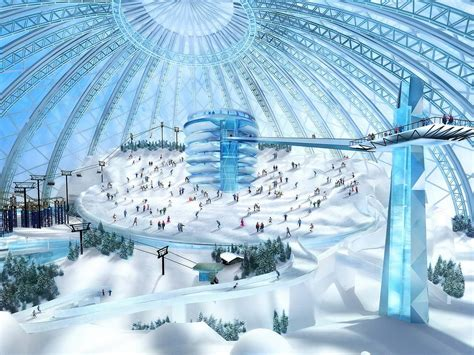 Residential Home Design by Maks Dubai Snow Dome