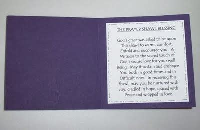 prayer shawl card template prayer shawl ministries bend coos bay oregon