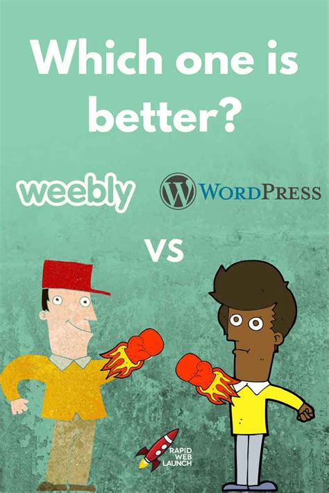 weebly vs wordpress choosing the right platform weebly vs wordpress which web design platform is best for