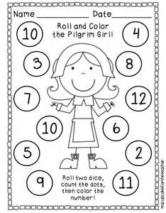 free thanksgiving math activities for kindergarten free