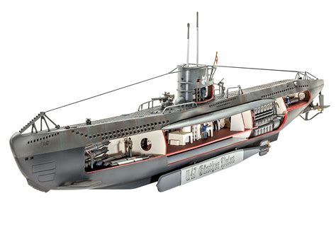german u boat helicopter revell 05060 german u boat u 47 w interior 1 125 revell