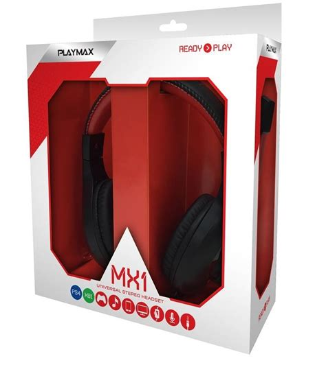 Headset Bsn Nutrition playmax mx1 universal headset buy now at mighty ape nz
