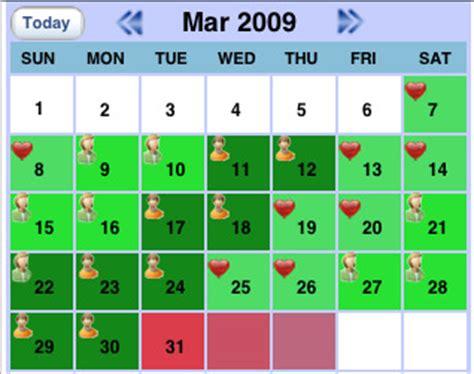 Calendario De Ovulacion Calendario De Ovulacin Embarazo Y Ms Design Bild