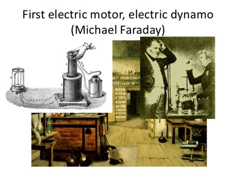 electric motor invented by michael faraday xix xxi century inventions