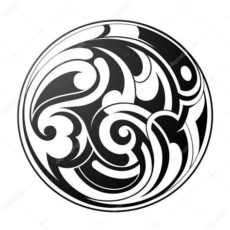 tattoo tribal redondo maori tatuajes redondos vector de stock 169 akv lv 75936279