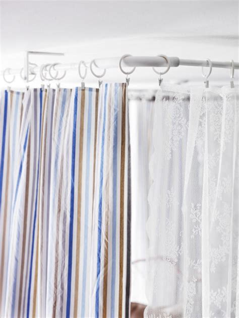 curtain rod for room divider 1000 images about room dividers on pinterest shelves