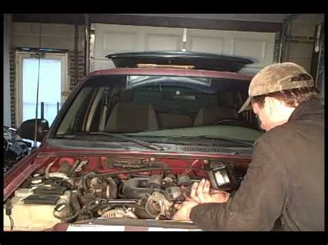 small engine maintenance and repair 2000 ford explorer sport interior lighting 4 0 sohc ford explorer engine replacement part 1 youtube