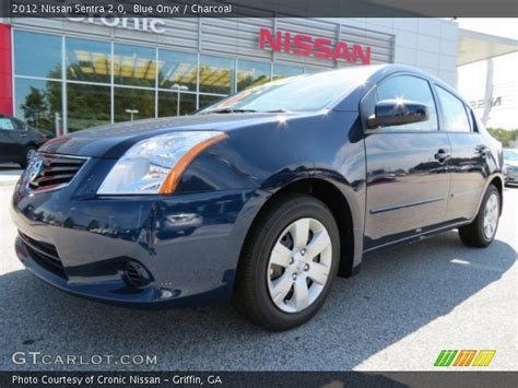 2012 blue nissan sentra blue onyx 2012 nissan sentra 2 0 charcoal interior
