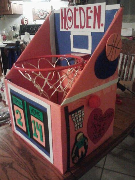 sports box ideas basketball goal box box ideas