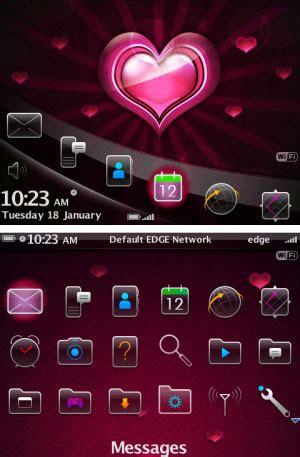 blackberry love themes blackberry theme roundup valentine s day edition