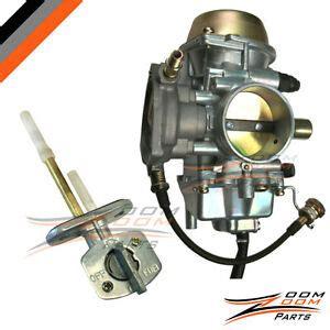 yamaha grizzly  carburetor  fuel gas petcock valve fuel filter ebay
