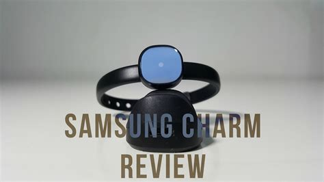 samsung charm fitness tracker review