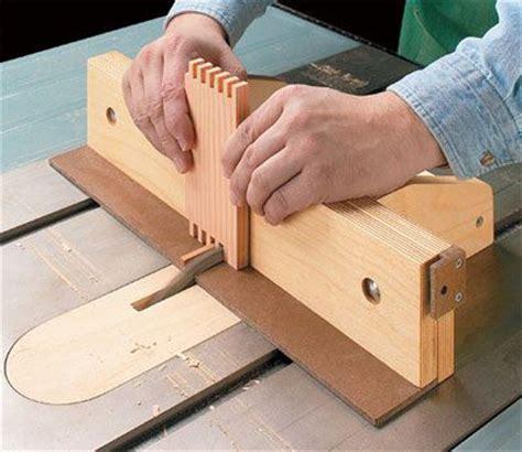 box joint jig plan woodworking jigs