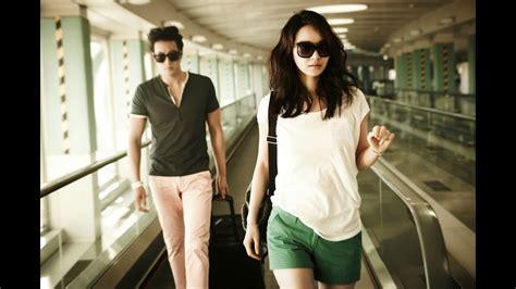 so ji sub photos photos of so ji sub and shin min ah at the airport youtube