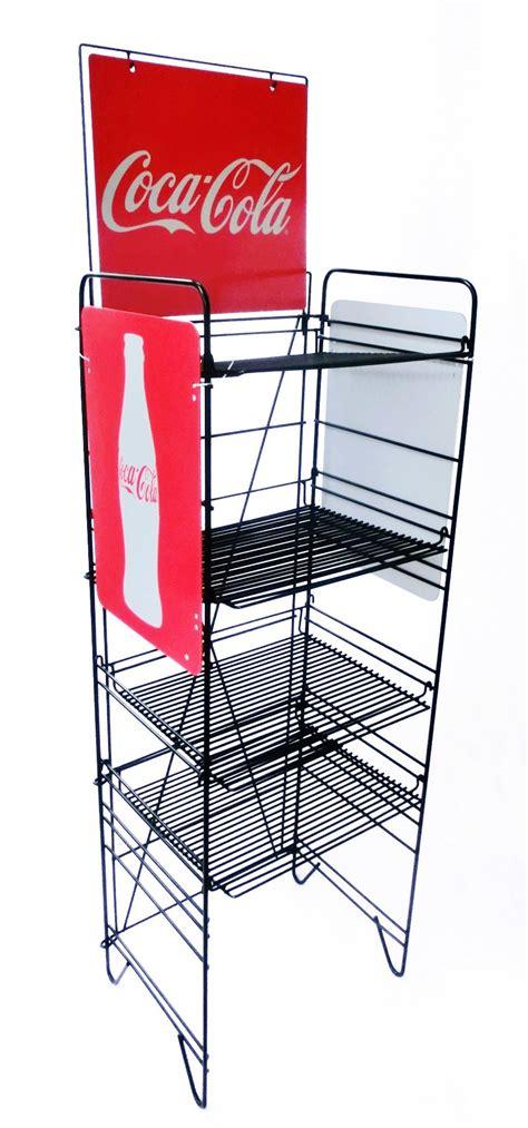 Soda Rack by Beverage Display Soda Rack Wire Metal Stand Floor Display