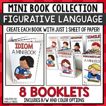 picture books with figurative language figurative language mini books by shelly rees teachers